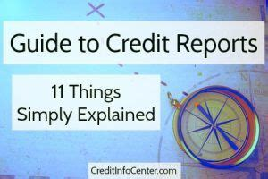 5 Things Explained by Credit Reports Guide 11 Things Simply Explained Credit
