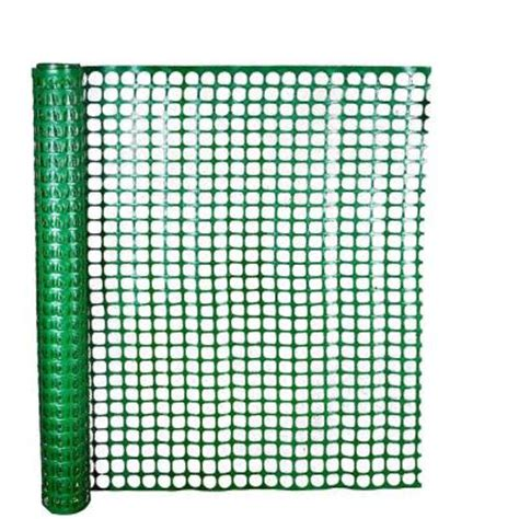 hdx 4 ft x 50 ft green safety edge fence 14900 38 48
