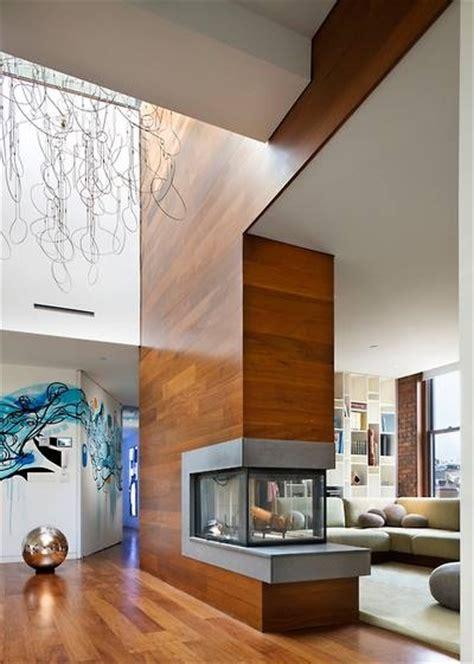 3 way fireplace living room decor