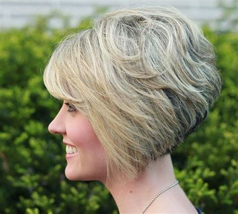 curly inverted bob haircut pictures 16 chic stacked bob haircuts short hairstyle ideas for