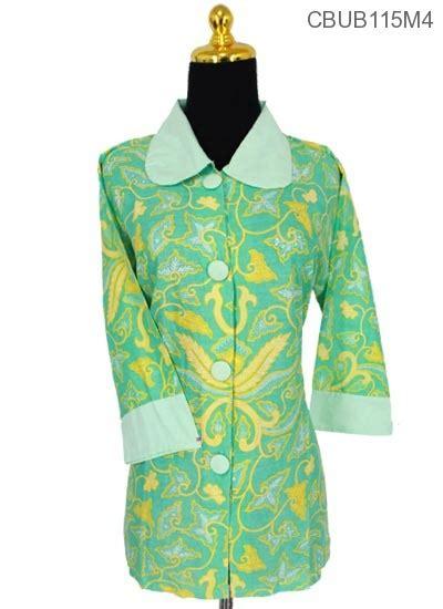 Sprei Katun Motif Pisang baju batik blus tanggung katun pisang bali blus tanggung