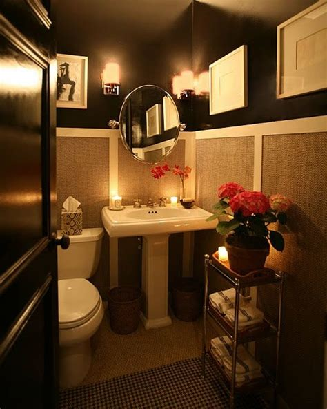 amazing small bathrooms dramatic half bath wow this is an amazing small bathroom