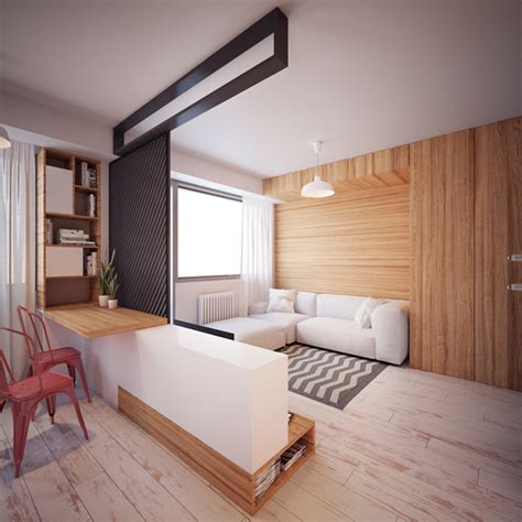 35 square meters two tiny apartment under 40 square meters by nikola