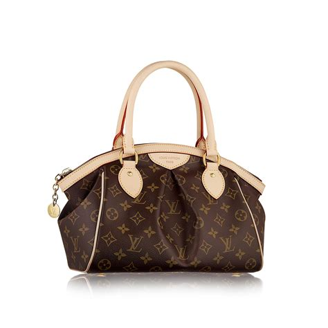 Louis Vuitton Monogrammed Shearling Handbag by Almost New Auththenic Lv Tivoli Pm Louis Vutton