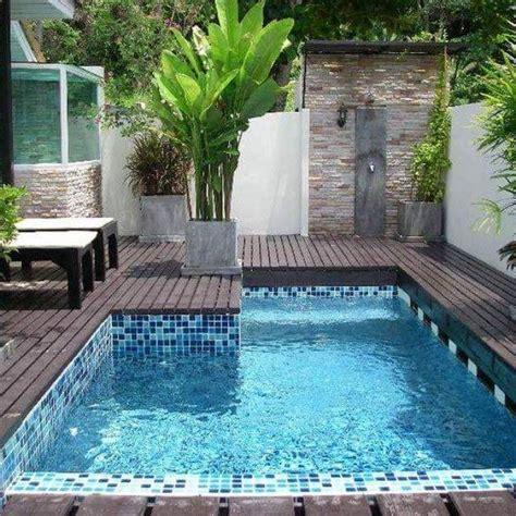 backyard plunge pool best 20 spool pool ideas on small pools