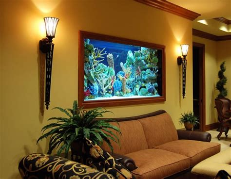aquarium design in living room 50 in wall aquariums must see pictures and designs