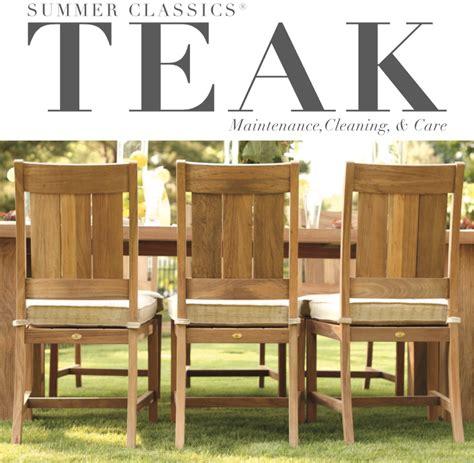 cleaning outdoor wood furniture teak tweak maintaining and cleaning teak furniture