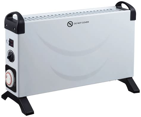 electric heater with timer argos challenge 3kw convector turbo heater with timer 7473427