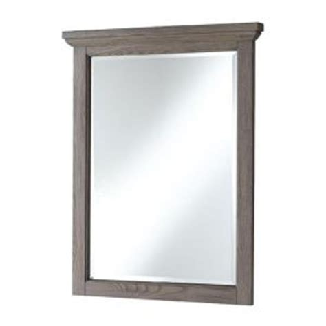 Home Depot Vanity Mirror by Home Decorators Collection Cedar Cove 35 In L X 28 In W