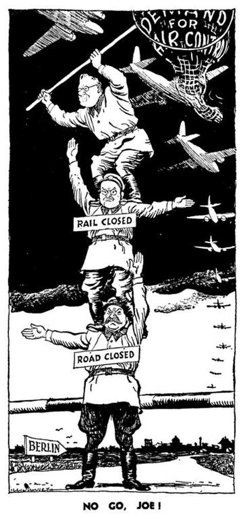 Karikatur 4d caricature d illingworth sur le blocus de berlin 27