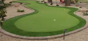 a putting green in backyard backyard putting greens scottsdale desert crest llc