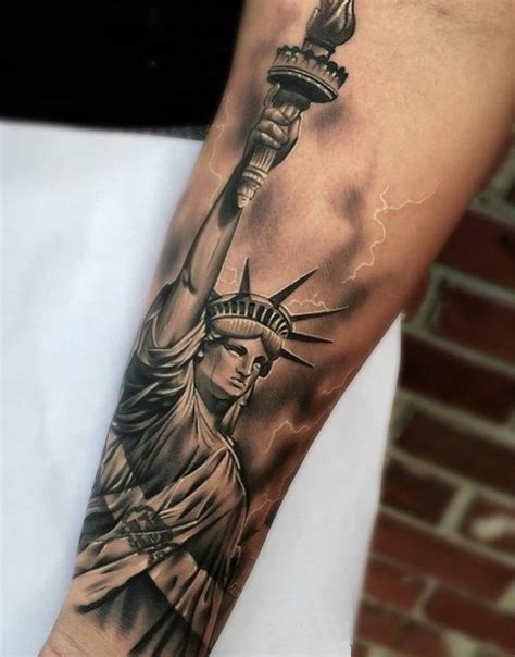 statue of liberty tattoo statue of liberty tattoos designs ideas and meaning