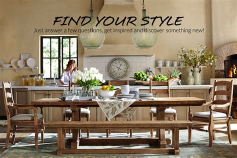 potttery barn style finder quiz pottery barn