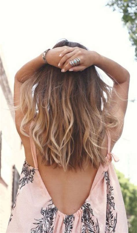 collarbone length wavy hair 25 best ideas about collarbone length hair on pinterest