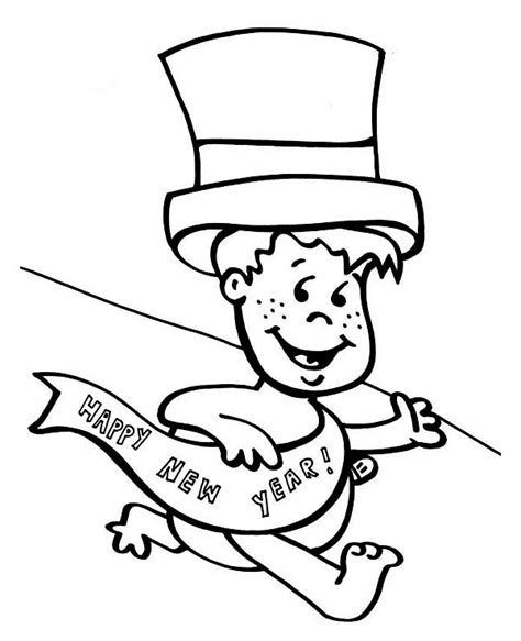 new year baby coloring page 89 pigeon says joyful and happy 2015 new year coloring