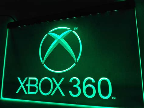 aliexpress xbox 360 lh003g xbox 360 led neon light signs in plaques signs