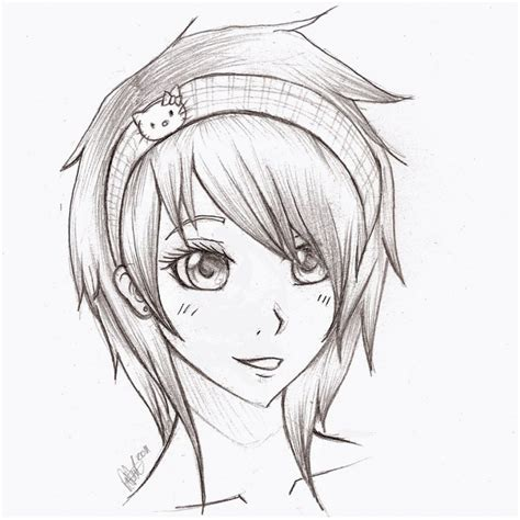 cool anime drawing ideas pencil drawing