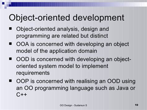 object oriented design tutorial java object oriented design
