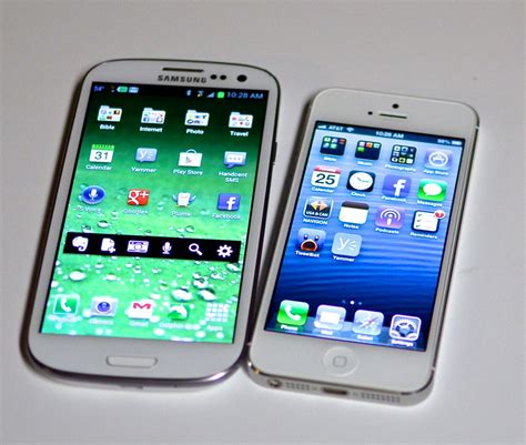 Samsung S3 Yang Besar iphone 5 vs samsung galaxy s3 masih ada langit diatas langit