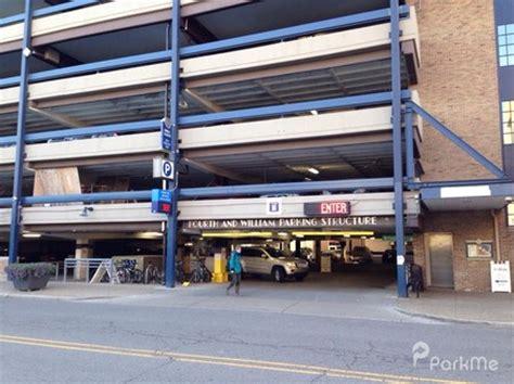 4th Garage 4th william parking garage parking in arbor parkme
