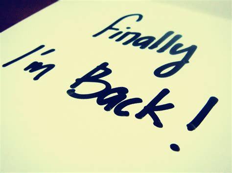 Im Back 2 by Paula I M Back