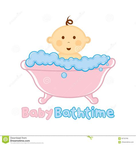 bath time illustrations vector stock images