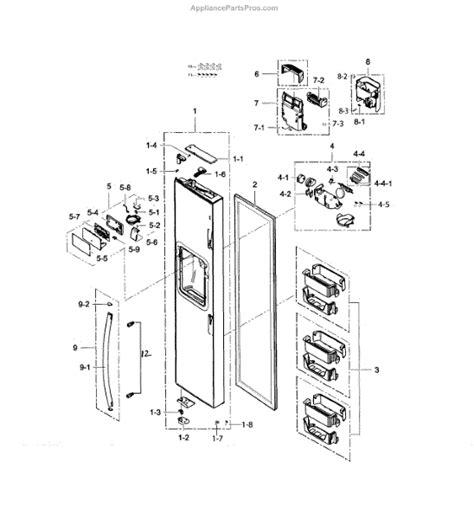 samsung refrigerator maker parts diagram samsung da97 13415b assy maker ggh pjt 1
