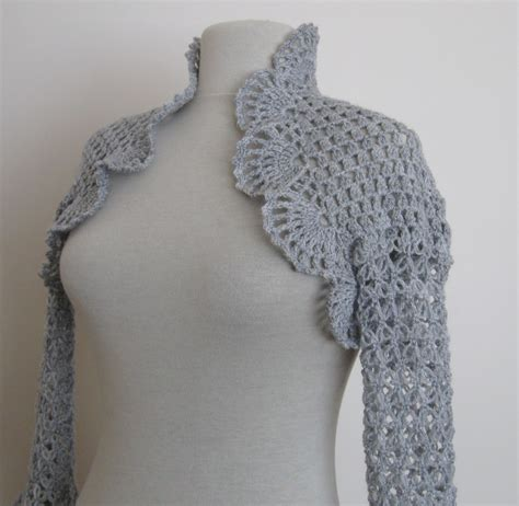 free knitted shrug and bolero patterns knitting and beading wedding bridal accessories and free