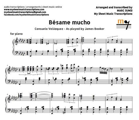 bsame mucho b 233 same mucho consuelo vel 225 zquez sheet music pdf