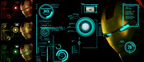Jarvis Theme For Windows 7 Rainmeter | ironman jarvis rainmeter theme