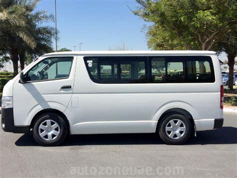 Toyota High Toyota Hiace 15 Seat Standard Roof Dsl Autozone Uae