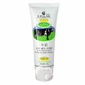 Scrub Lyolan lyolan spot removing whiteing milk cleanser belva shop belanja terpercaya