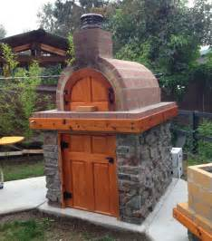 Build A Wood Fired Pizza Oven In Your Backyard by Brickwood Ovens Castillo Wood Fired Brick Pizza Oven Amp La