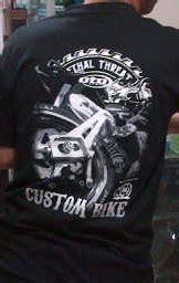 Mastery Cara Gila Jualan Kaos Via kaos keren buat pendoyan custom bike oto2 s custom