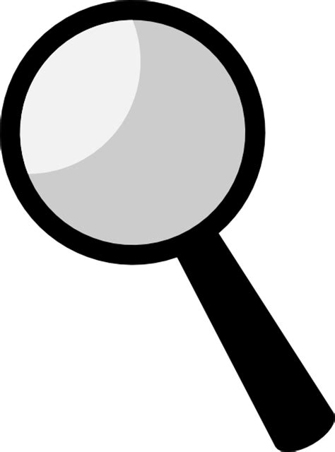 Magnifying Glass Clipart Free magnifying glass clip at clker vector clip royalty free domain