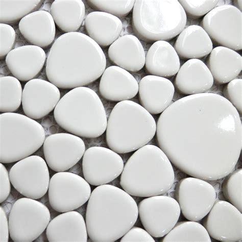 popular white pebble tile buy cheap white pebble tile lots from china white pebble tile