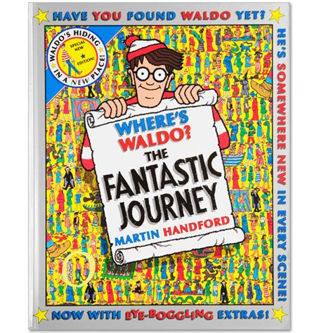 where s the books where s waldo the fantastic journey book cover