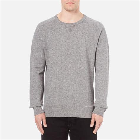 gravy boat crew neck sweatshirt levi s men s original crew neck sweatshirt medium grey