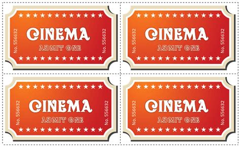 fake movie ticket template best business template
