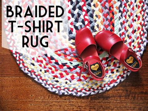 braided tshirt rug no sew upcycle style braided t shirt rug my poppet makes