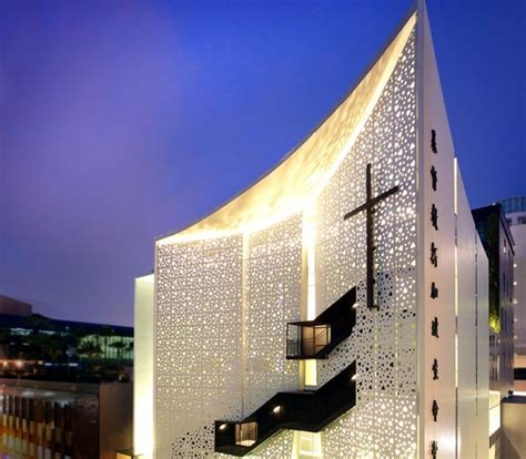 life church laud architects chinese contemporary