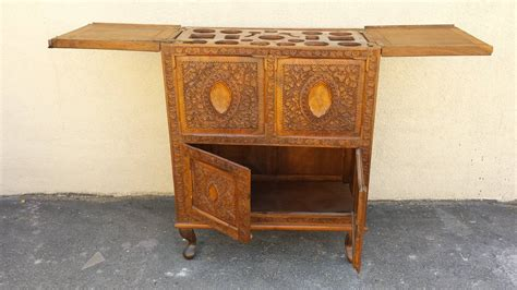 Pop Up Bar Cabinet Bar Chest Unique Asian Style Carved Pop Up Bar Cabinet For Sale At 1stdibs