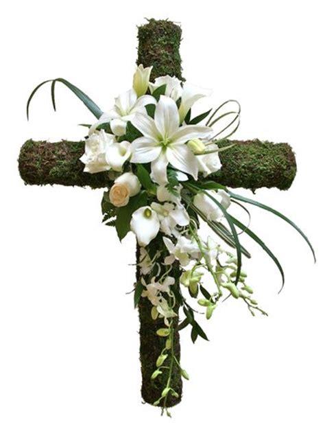 Crop Flower Oc stunning cross with flowers easter and flower arrangements