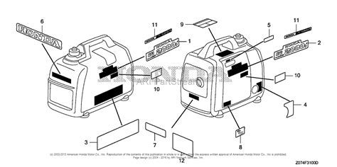 honda eu2000i wiring diagram honda ex700c parts diagram