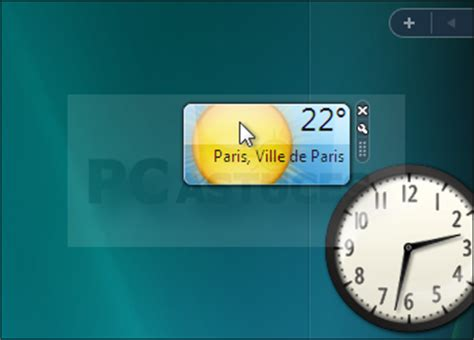 gadget bureau gratuit afficher ses gadgets directement sur le bureau windows vista
