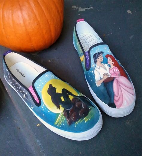 the mermaid slippers items similar to disney animation inspired the