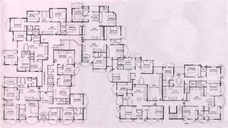 blueprint of a mansion floor plans for mansions houses and appartments