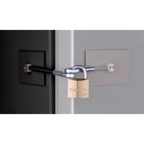 Refrigerator Door Locks by Refrigerator Door Lock Kit Black Gray