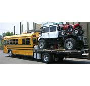 School Bus Converted To Toy Hauler  AwesomeCarMods