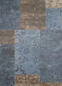 vintage teppich blau vintage teppich colorado blau g 252 nstig kaufen heineking24 de